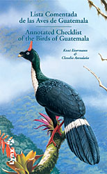 Checklist of the Birds of Guatemala